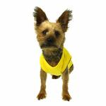 Plain Dog Shirt - Yellow
