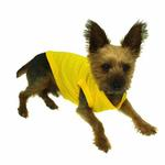 View Image 3 of Plain Dog Shirt - Yellow