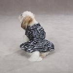View Image 2 of Platinum Print Zebra Dog Dress