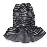 View Image 4 of Platinum Print Zebra Dog Dress