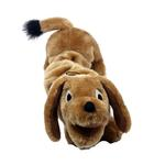 View Image 3 of Plush Puppies Bungee Wiener Dog Toy
