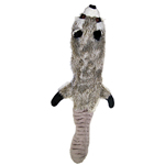 View Image 1 of Plush Skinneeez Raccoon