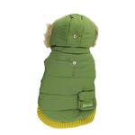 Pocket Dog Parka by Dogo - Green