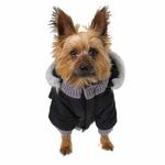 Pocket Dog Parka by Dogo - Black