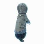 View Image 5 of Pocket Dog Parka by Dogo - Brown