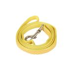 View Image 1 of Polka Dot Bone Leash by Pinkaholic - Yellow