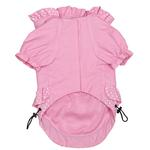 View Image 3 of Polka Dots and Ruffles Raincoat - Pink