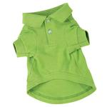 View Image 1 of Polo Dog Shirt - Parrot Green