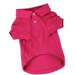 View Image 1 of Polo Dog Shirt - Raspberry Sorbet