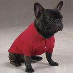 Polo Dog Shirt - Tomato Red