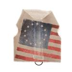 View Image 1 of Pony Express Walking Harness Dog Vest - Betsy Ross