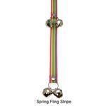 View Image 2 of Poochie Bells Dog Doorbell - Classic Stripe Designs