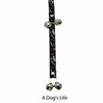 View Image 1 of Poochie Bells Dog Doorbell - Doggie Dialogue Designs