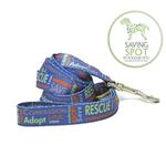 View Image 1 of Poochie Bells Saving Spot Dog Leash - Rescue Me