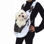 View Image 1 of Poochy Pouch White Dog Carrier