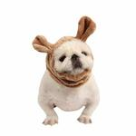 View Image 1 of Poofy Dog Snood by Puppia - Beige