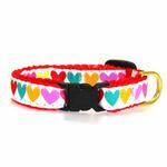 View Image 2 of Pop Hearts Cat Collar by Up Country