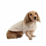 View Image 2 of Popette Dog Coat by Puppia - Ivory