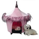 View Image 1 of Posh & Pink Dog Bed Tent