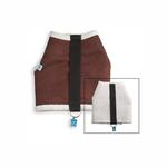 View Image 2 of Power Reversible Dog Harness - Brown & Berber Fleece