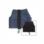 View Image 2 of Power Reversible Dog Harness - Denim & Suede