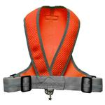 View Image 2 of Precision Sport Mesh Dog Harness - Orange