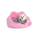 View Image 2 of Premium House Dog Bed by Pinkaholic - Pink