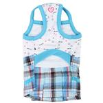 View Image 3 of Pre-School Dog Dress by Pinkaholic - Sky Blue