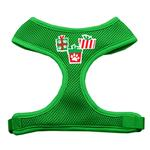View Image 1 of Presents Mesh Dog Harness - Green