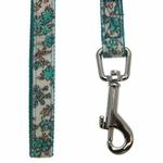 View Image 3 of Primavera Dog Leash by Pinkaholic - Aqua