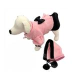 View Image 2 of Princess Dog Dress Coat with Detachable Hood by Klippo
