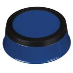 View Image 2 of ProSelect Colored Stainless Steel Bowl with Rubber Base - Blue