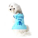 Punk Dog T-Shirt - Blue
