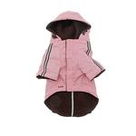 View Image 2 of Pupagonia Skull Dog Parka - Pink