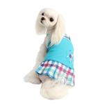 View Image 3 of Purity Dog Dress by Puppia - Aqua