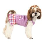 View Image 1 of Purity Dog Dress by Puppia - Purple