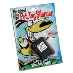 View Image 1 of Quiet Spot Pet Tag Silencer - Black