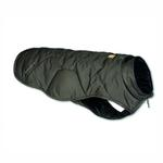 View Image 3 of Quinzee Insulated Dog Jacket by RuffWear - Granite Gray