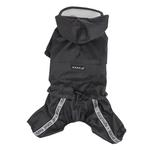 Race Track Rainsuit by Puppia - Black