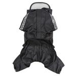 View Image 3 of Race Track Rainsuit by Puppia - Black