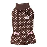 View Image 2 of Rachel Cat Dress by Catspia - Brown