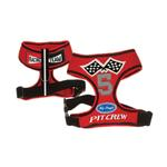 Racing Team Pit Crew Dog Harness - Red