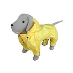 View Image 1 of Rainforest Lemon Dog Rainsuit