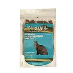 View Image 1 of Real Meat Fish & Venison Jerkey Cat Treats