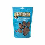 View Image 1 of Real Meat Fish & Venison Jerkey Dog Treats