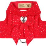 View Image 1 of Red Bailey Dog Harness by Susan Lanci