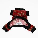 View Image 3 of Red Le Chien Dog Pajamas