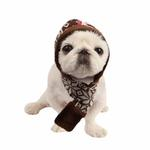 Reindeer Dog Hat by Pinkaholic - Brown