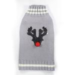 Reindeer Dog Sweater by Hip Doggie