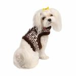 View Image 1 of Reindeer Pinka Dog Harness by Pinkaholic - Brown